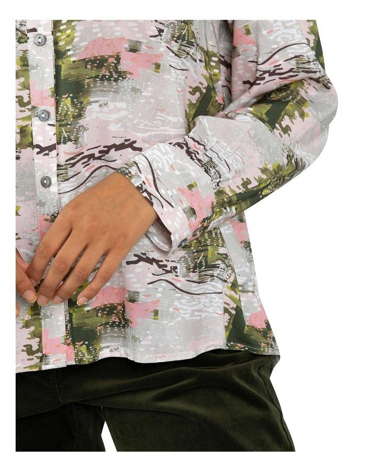 Oak Cully Print Shirt image 4