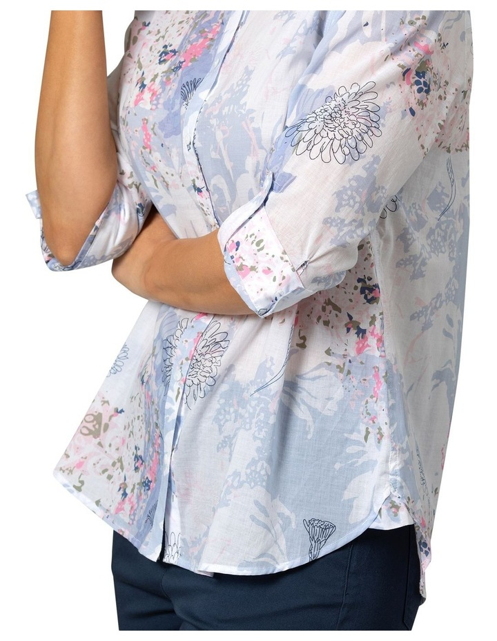 Dandelion Print Shirt image 4