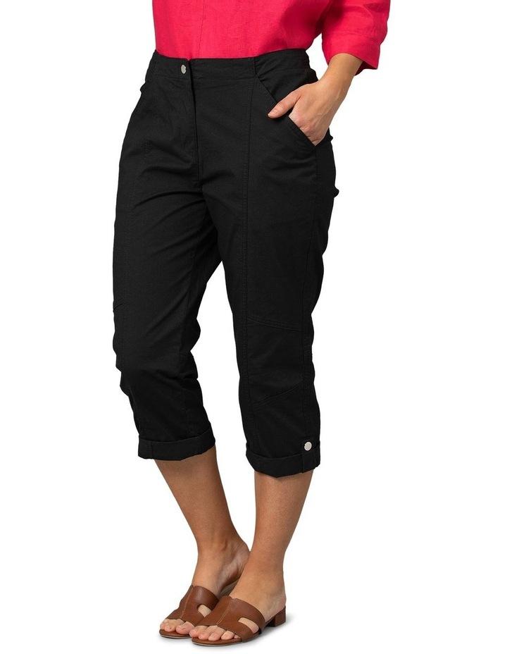 Utility Washer Cotton Pant Black image 3