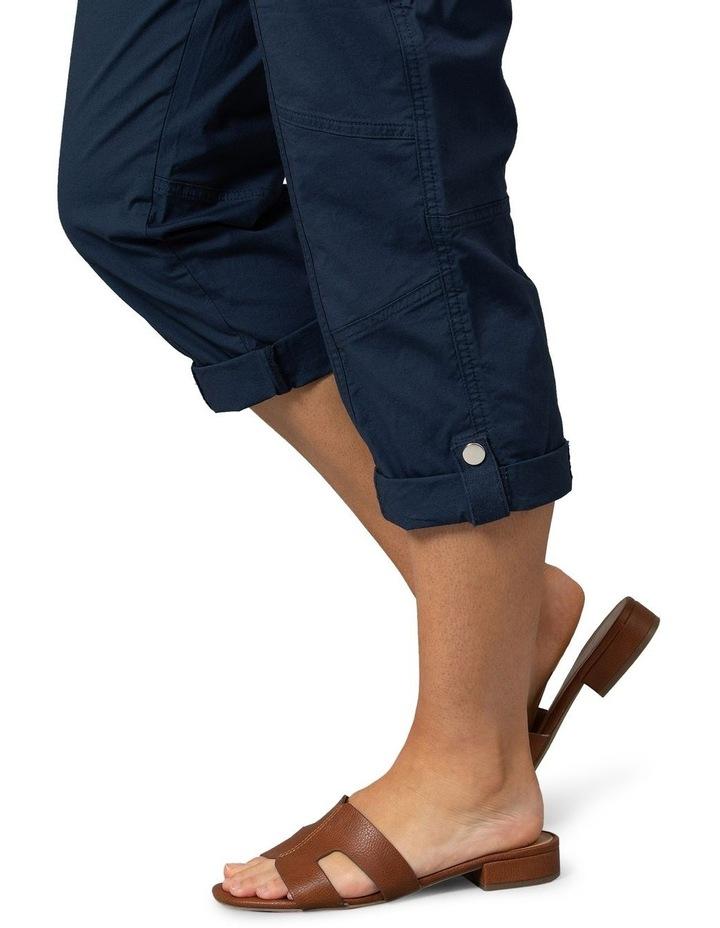 Utility Washer Cotton Pant Navy image 4