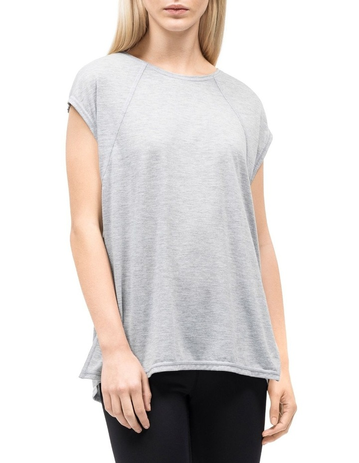 Cap Sleeve Tee With Strappy Back image 2