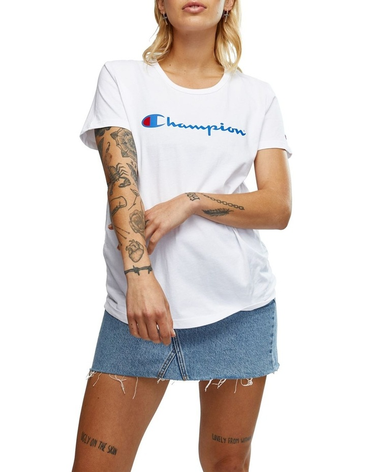 CHMPD SCRPT S/S TEE image 1