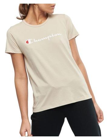 7928d76821f524 Champion Chmpd Scrpt Short Sleeve Tee