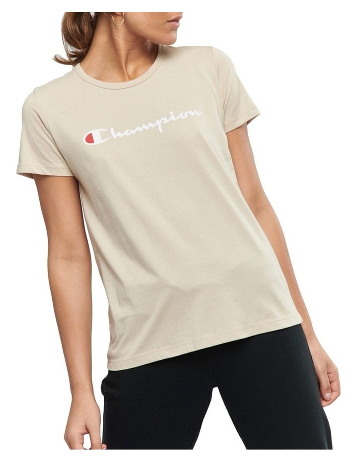 Chmpd Scrpt Short Sleeve Tee image 1