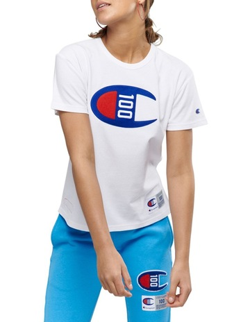 713a5049c7e0 ChampionCentury Collection Short Sleeve Tee. Champion Century Collection  Short Sleeve Tee