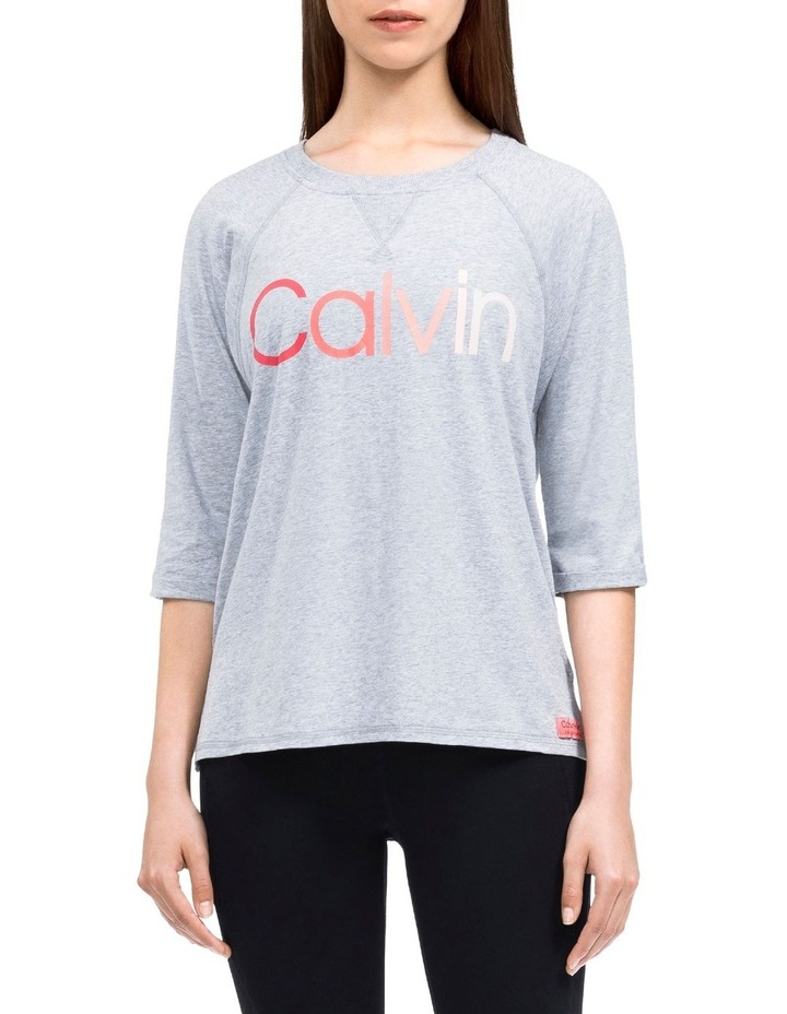Performance Ombre Logo 3/4 Sleeve T-Shirt image 1