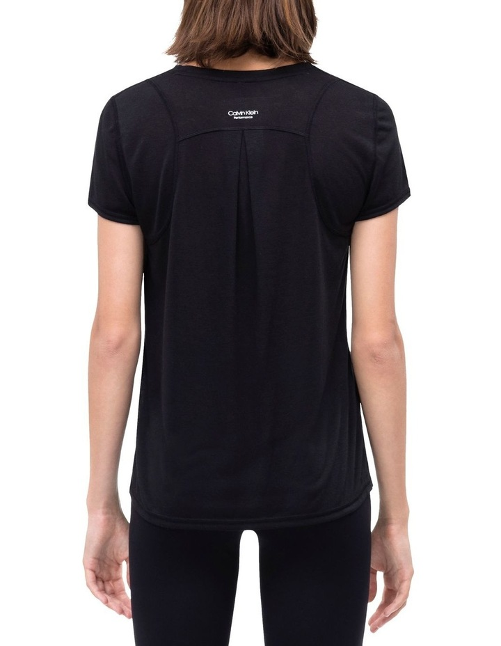 Calvin Logo Short Sleeve Tee With Inset Shoulder Seams image 2