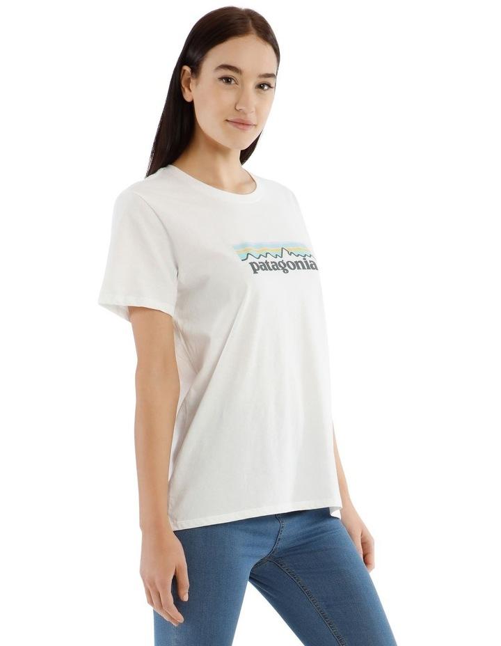 Pastel Logo Organic Crew T-Shirt image 2
