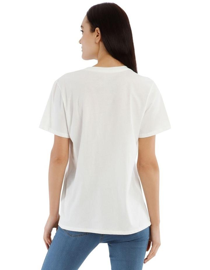 Pastel Logo Organic Crew T-Shirt image 3