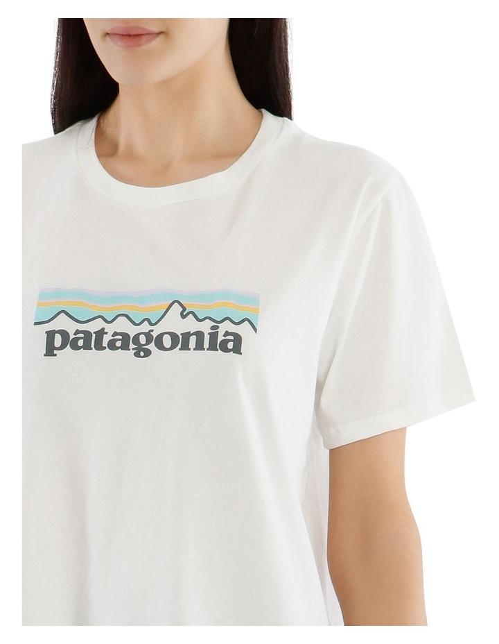 Pastel Logo Organic Crew T-Shirt image 4