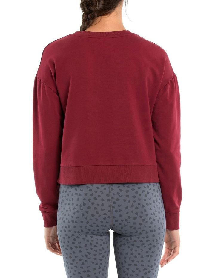 Classic Crop Sweat W/ Embroidered Logo image 3