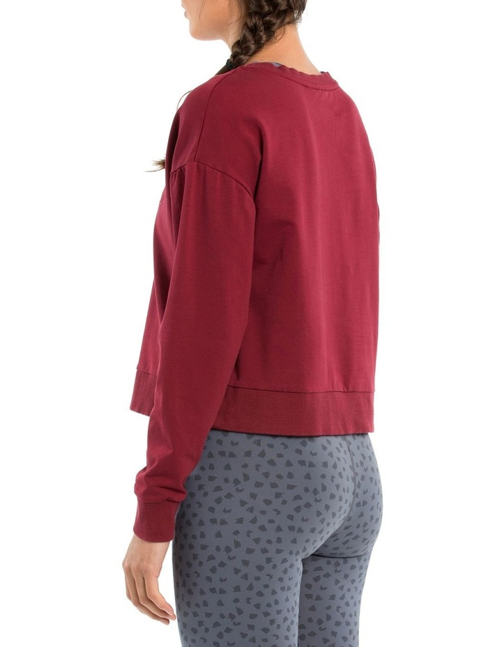 Classic Crop Sweat W/ Embroidered Logo image 4