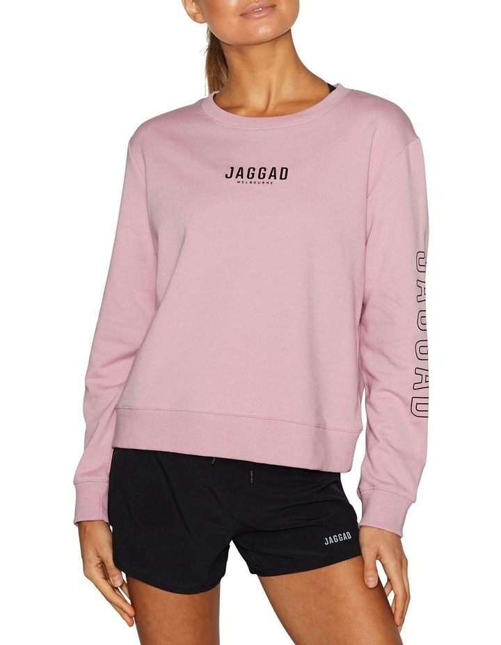 Classic Crew Neck Sweater - Coral