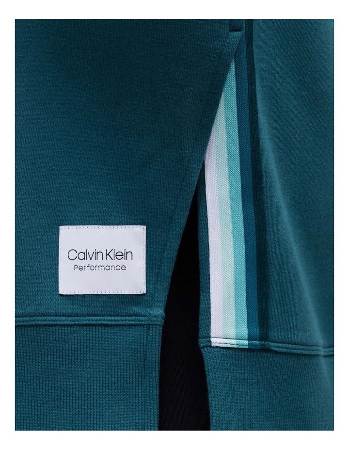 Long Sleeve Side Slit Crew Neck Pullover image 2
