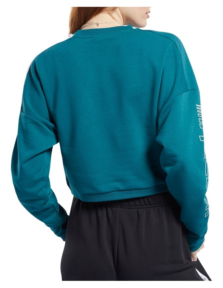Colour Blocked Crew Sweater image 2