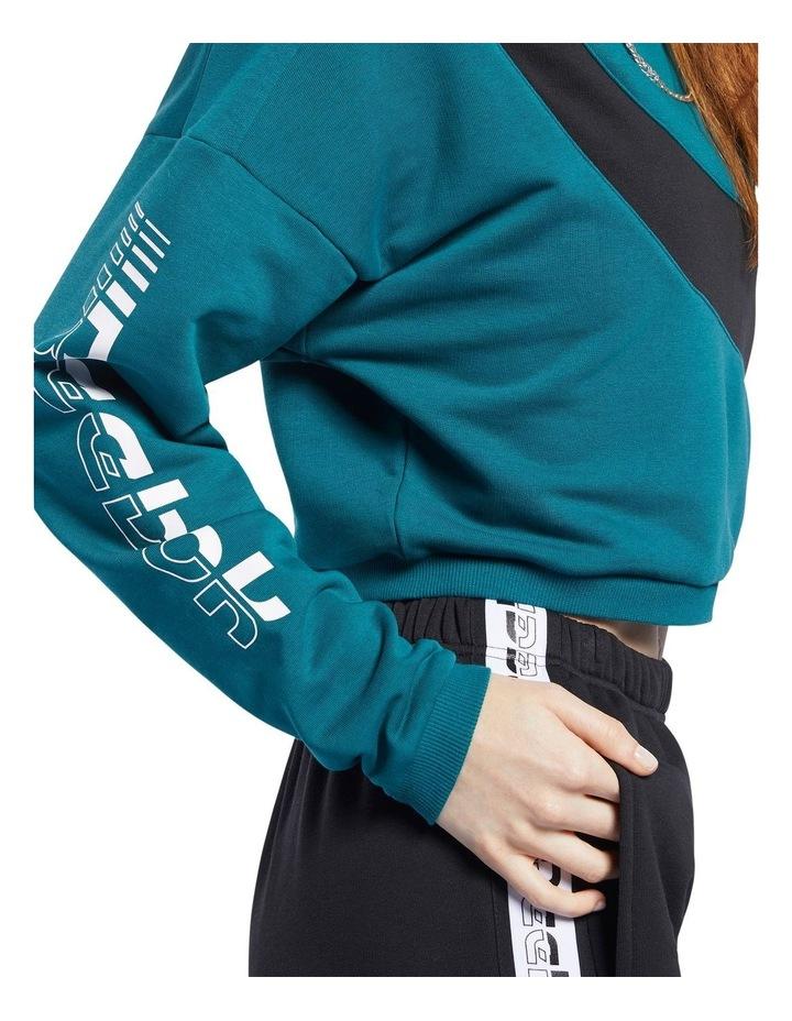 Colour Blocked Crew Sweater image 3