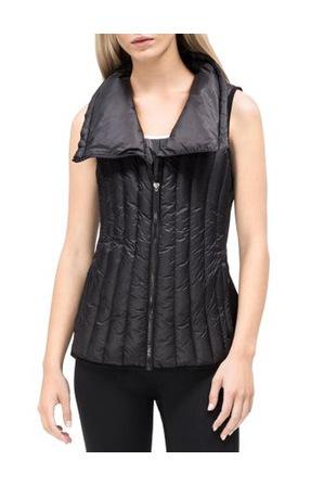 Calvin Klein Performance - Down Filled Drama Collar Vest