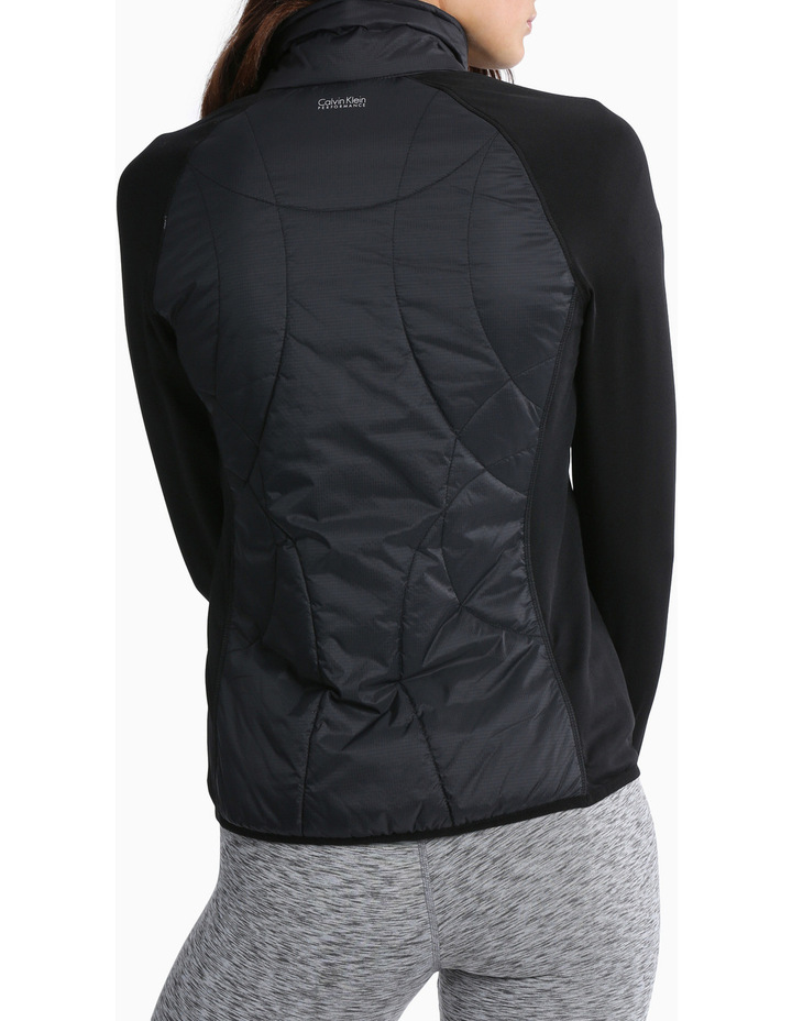 Rib Stop Quilted Jacket image 3