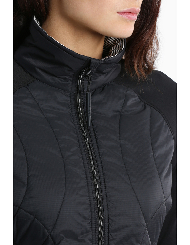 Rib Stop Quilted Jacket image 4