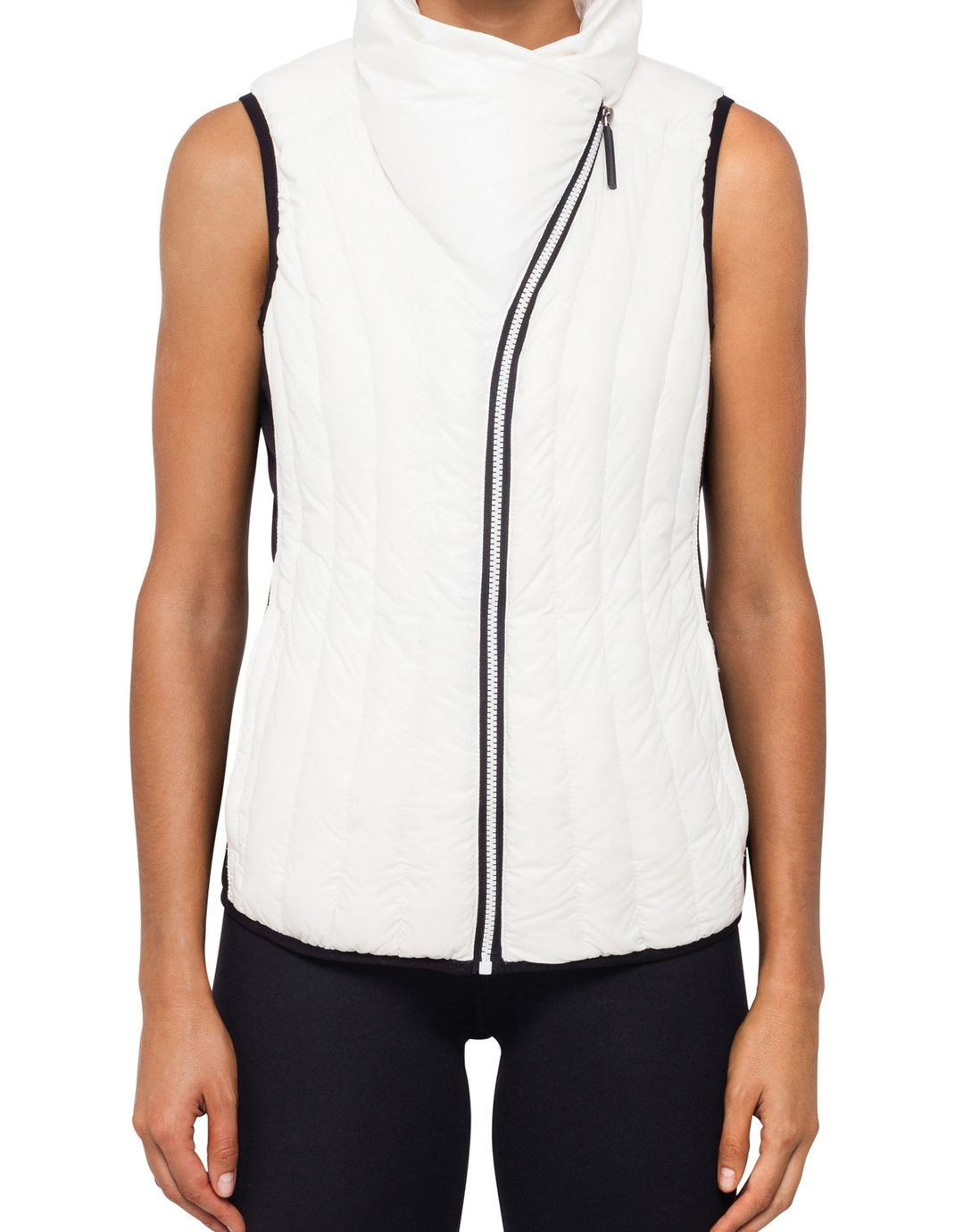 Calvin Klein Performance Drama Collar Down Filled Vest Myer Online Tas Lacoste Zip Basic Special Colours