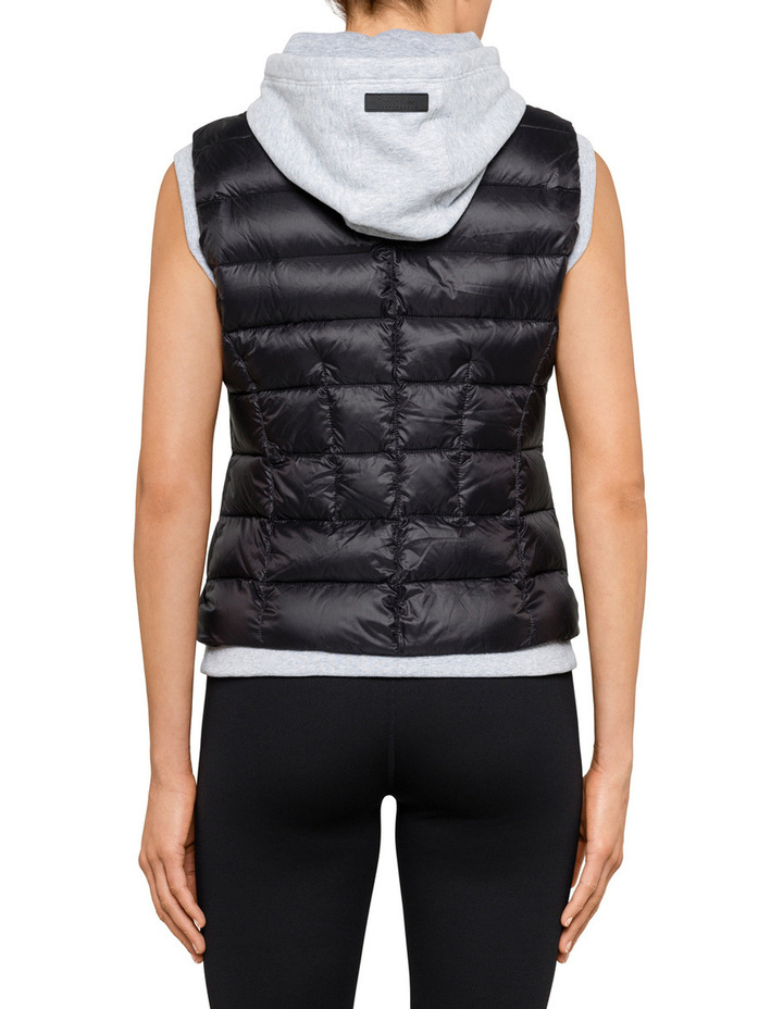 Down Vest With Fleece image 2