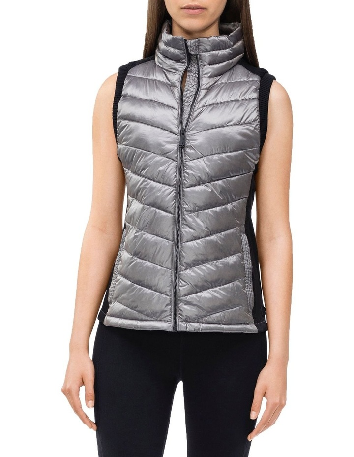 CK Performance Chevron Quilting Down Filled Vest image 1