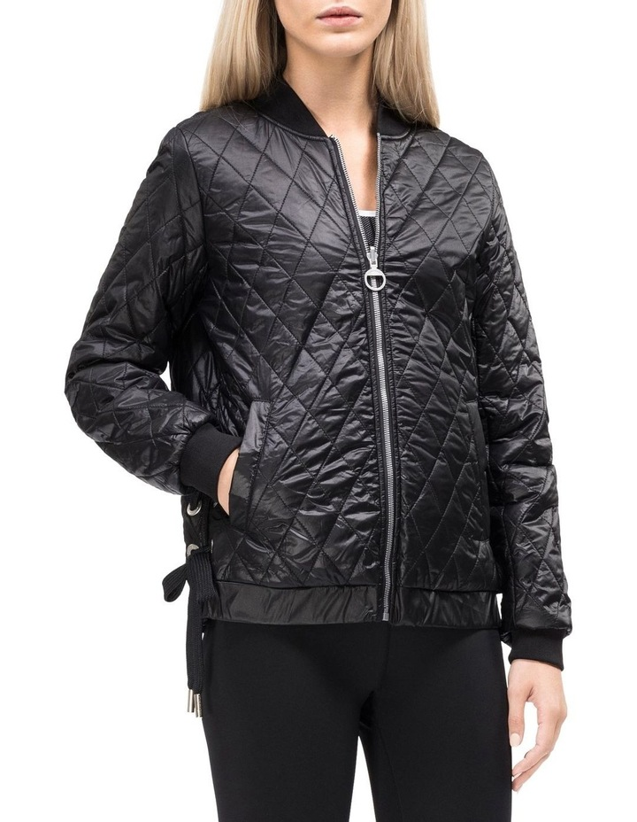 CK PERFORMANCE PF8J4589_ REVERSIBLE BOMBER W/ DIAMOND QUILTING & LACE UP SIDES image 1