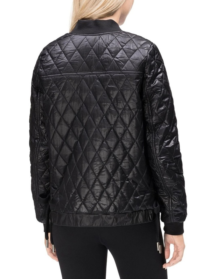 CK PERFORMANCE PF8J4589_ REVERSIBLE BOMBER W/ DIAMOND QUILTING & LACE UP SIDES image 2