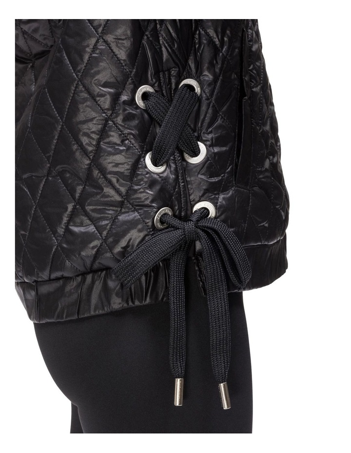 CK PERFORMANCE PF8J4589_ REVERSIBLE BOMBER W/ DIAMOND QUILTING & LACE UP SIDES image 3