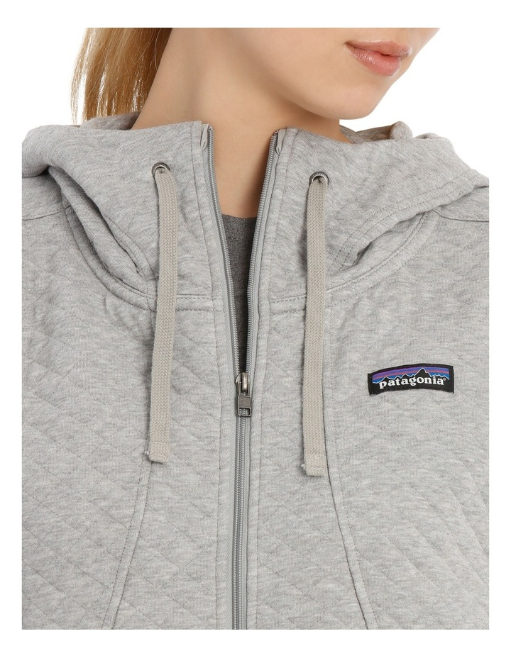 W's Cotton Quilt Hoody image 4