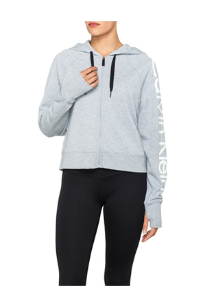 Calvin Klein Performance - Center Zip Terry Hoodie
