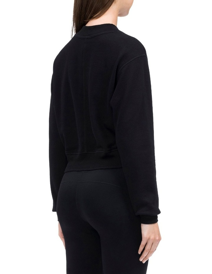 Calvin Logo Long Sleeve Mock Neck Pullover image 2