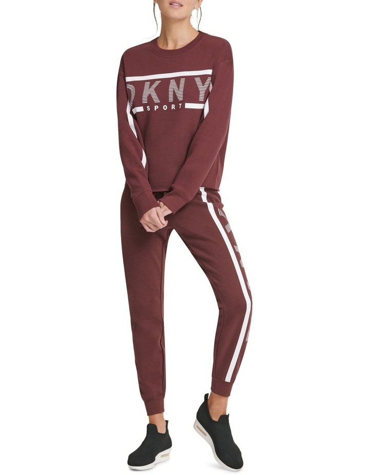 Dkny Active Exploded Stripe Sweat image 1