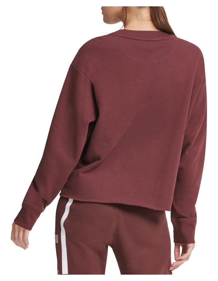 Dkny Active Exploded Stripe Sweat image 2