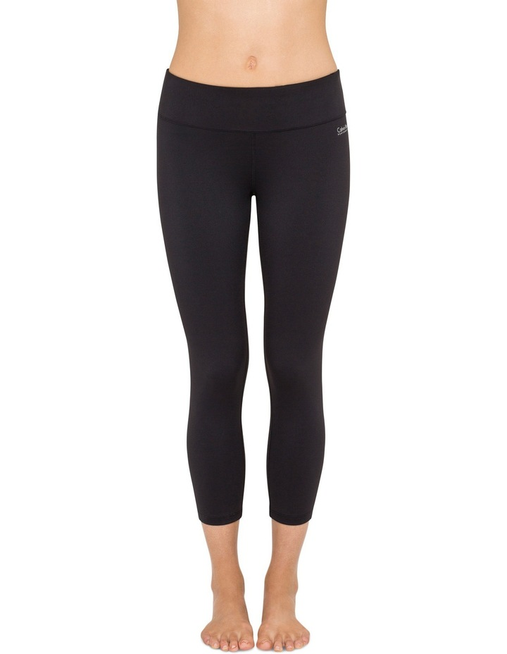 Crop Tight With Shirring Leggings image 1