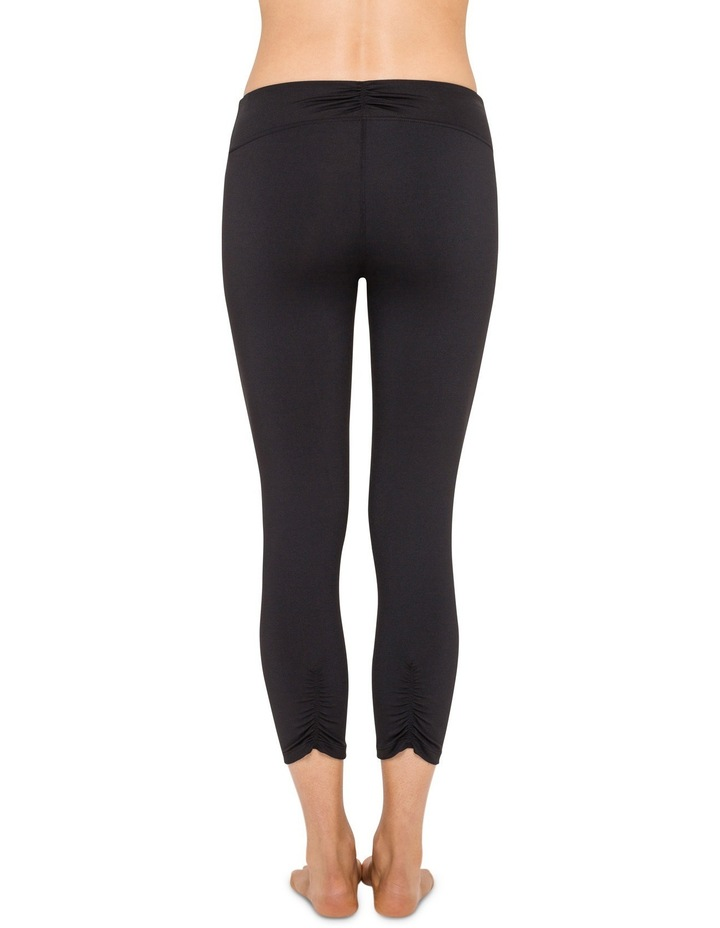 Crop Tight With Shirring Leggings image 2