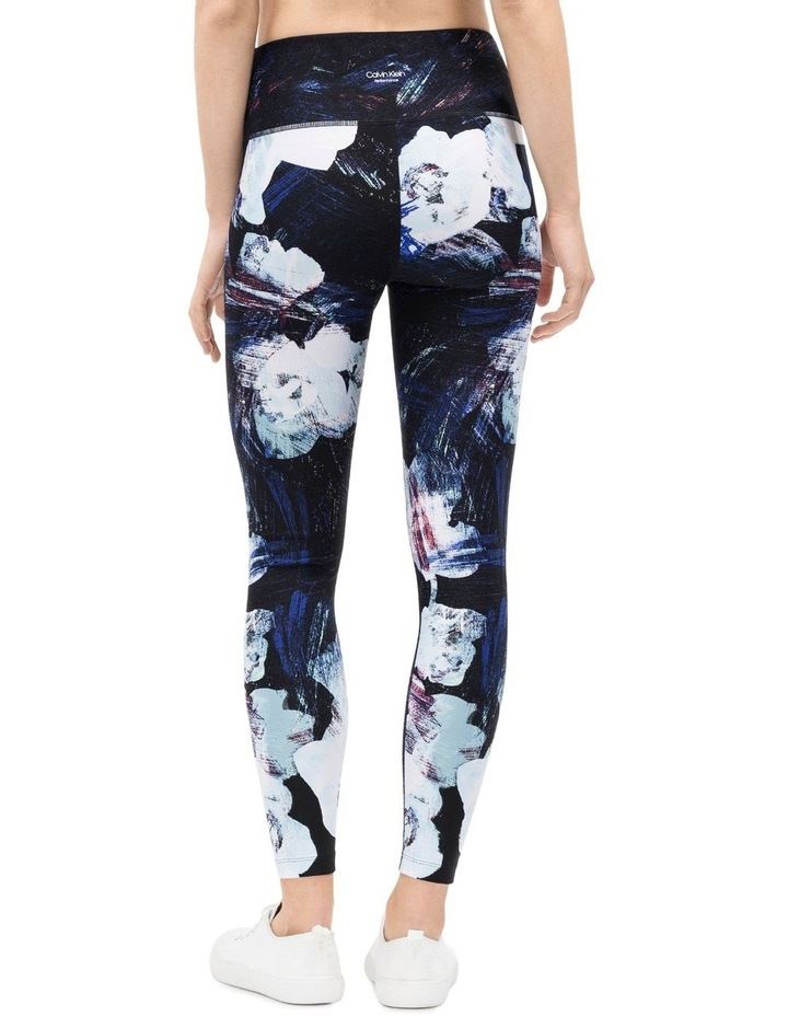 FLORAL ETCH PRINT HIGH WAIST 7/8 TIGHT image 2
