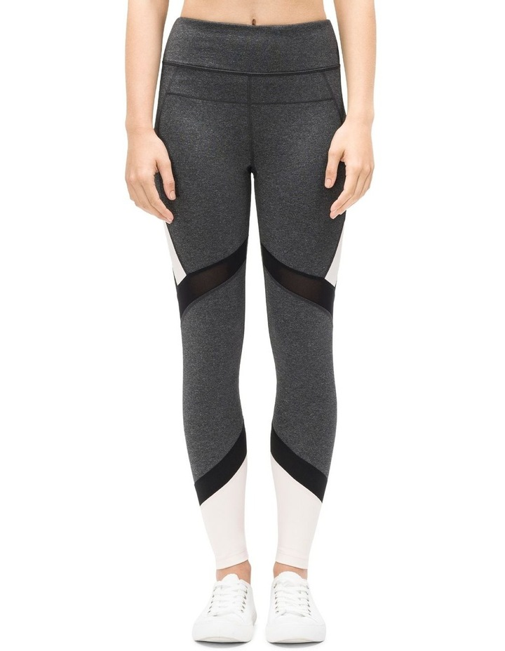 HIGH WAIST COLORBLOCKED 7/8 TIGHT W/ MESH INSET image 1