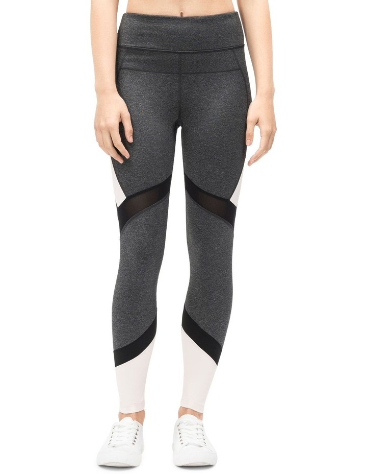 HIGH WAIST COLORBLOCKED 7/8 TIGHT W/ MESH INSET image 2