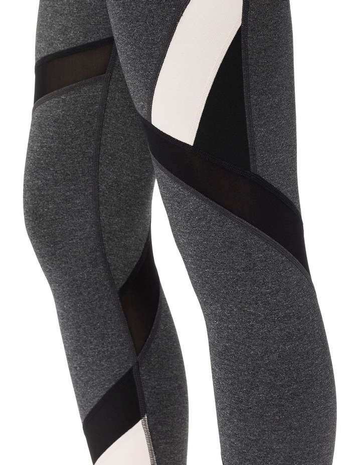 HIGH WAIST COLORBLOCKED 7/8 TIGHT W/ MESH INSET image 3