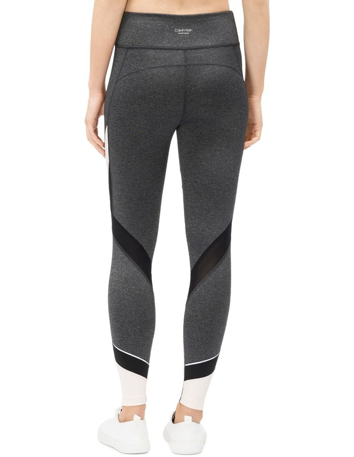 HIGH WAIST COLORBLOCKED 7/8 TIGHT W/ MESH INSET image 4