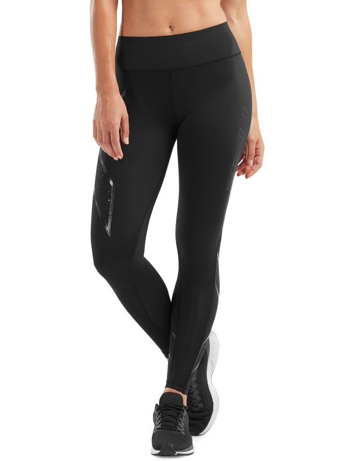 Bonded Mid-Rise Tights image 1