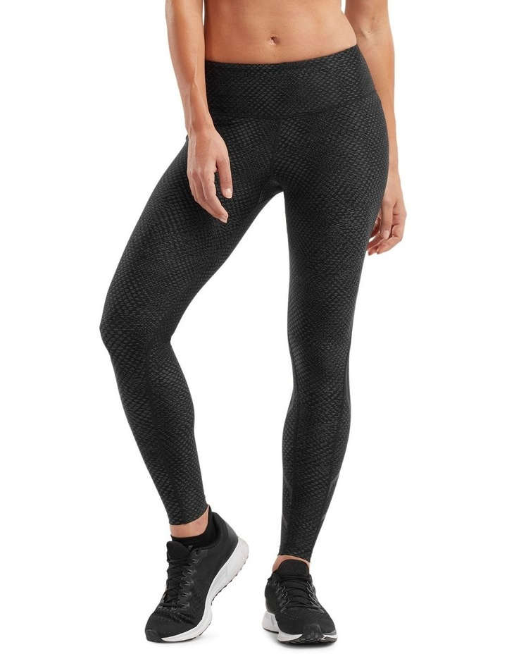 PRINT Mid-Rise Compression Tights image 1