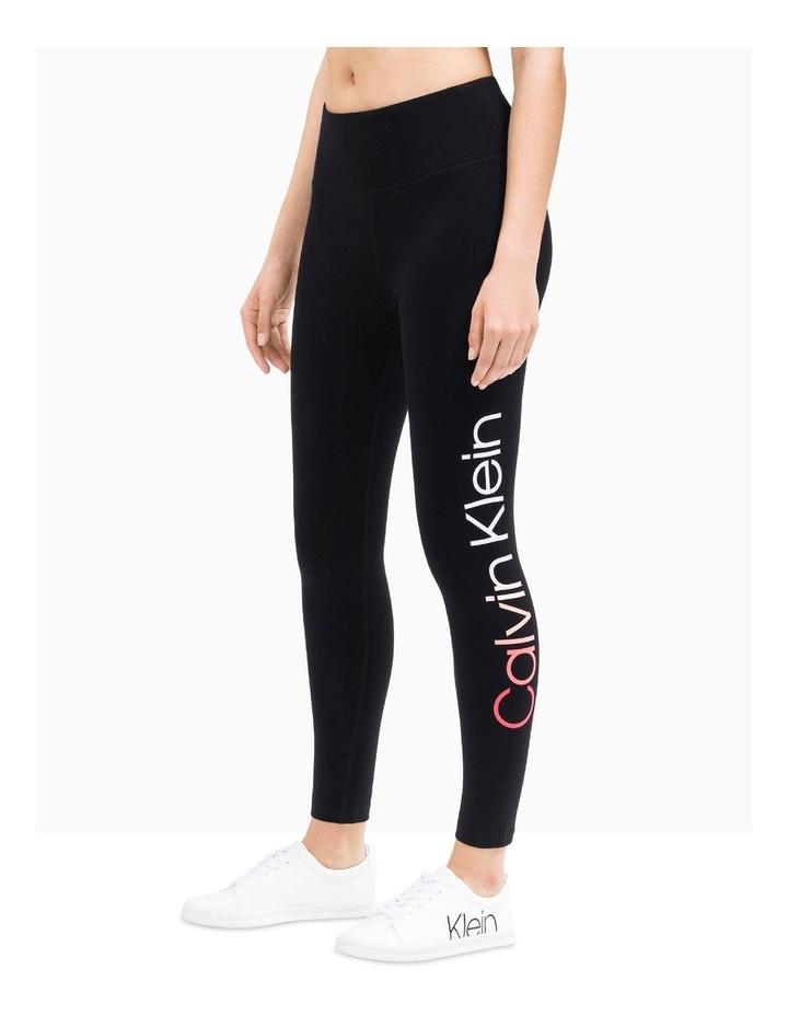 Ombre Calvin Klein Logo High Waist 7/8 Legging image 2