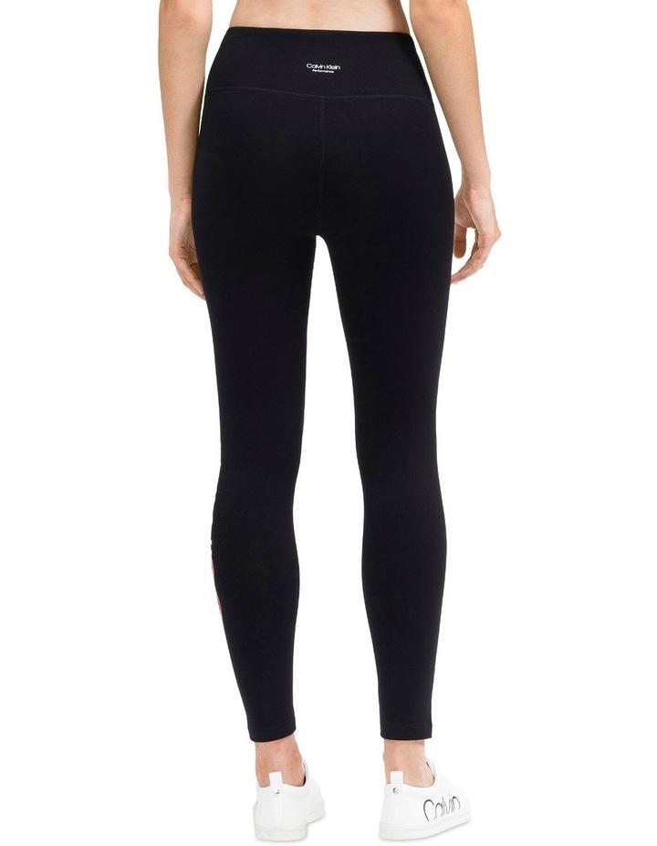 Ombre Calvin Klein Logo High Waist 7/8 Legging image 3