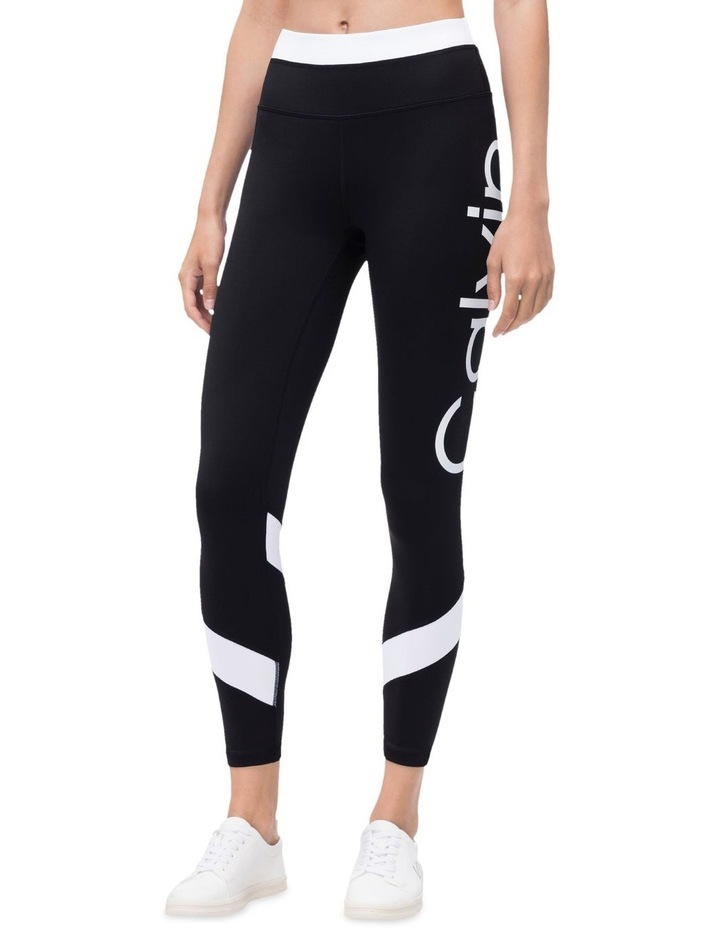 Calvin Logo Colorblock High Waist 7/8 Tight image 1