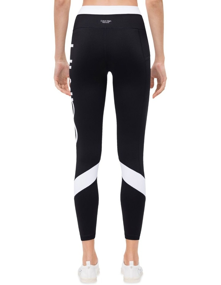 Calvin Logo Colorblock High Waist 7/8 Tight image 2