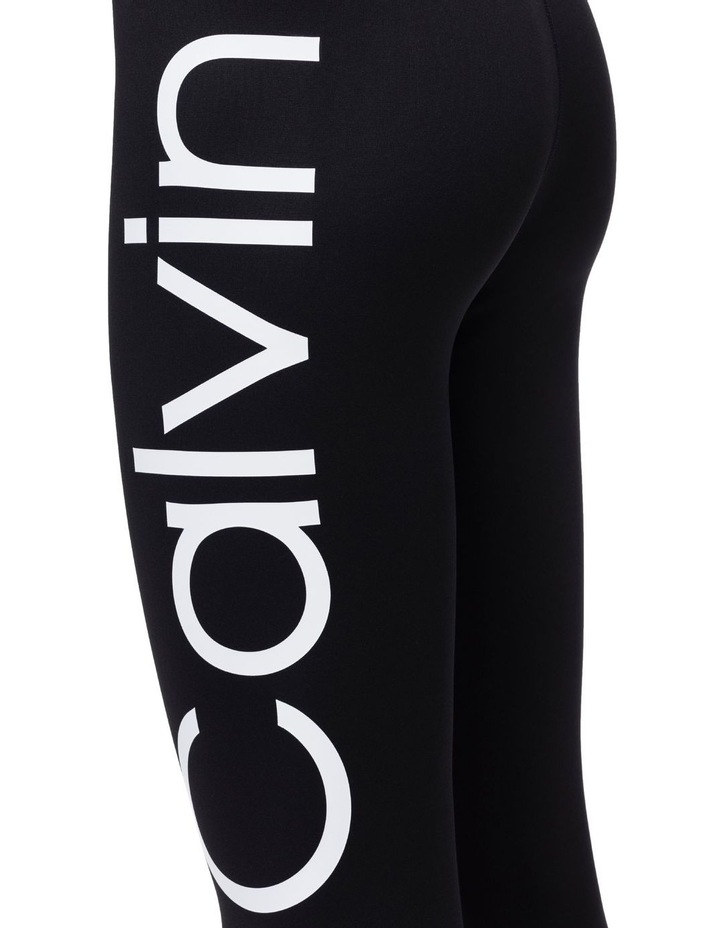 Calvin Logo Colorblock High Waist 7/8 Tight image 3