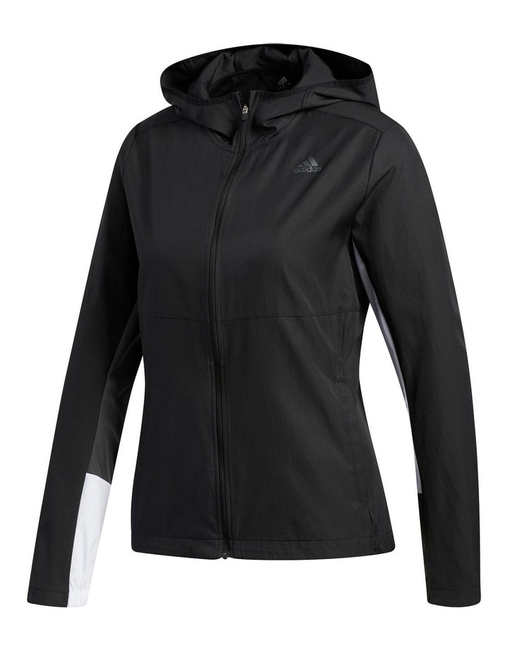 Own The Run Wind Jacket Hooded image 1