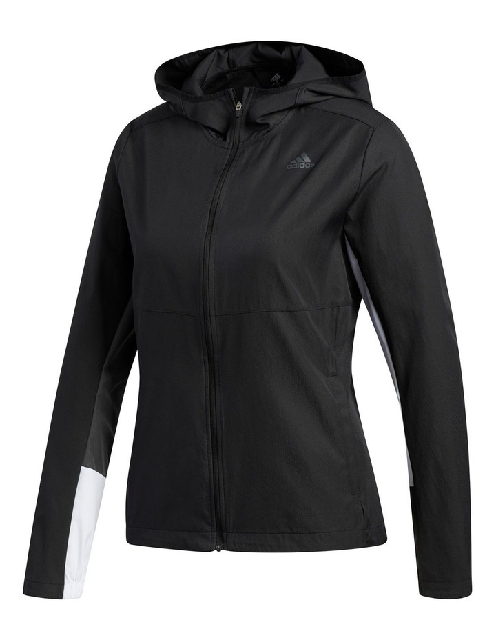 Own The Run Wind Jacket Hooded image 2